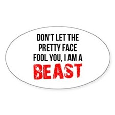 I AM A BEAST Decal