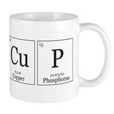 CuP [Chemical Elements] Small Mug