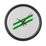 Airman apprentice v2 Large Wall Clock
