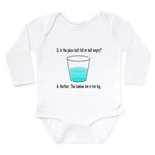 Kanban Water Glass 2 Long Sleeve Infant Bodysuit