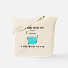Kanban Water Glass 2 Tote Bag
