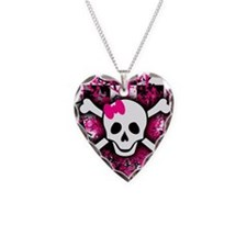Cute Girly skull Necklace