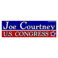 Joe Courtney for Congress bumper sticker