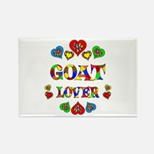 Goat Lover Rectangle Magnet