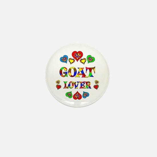 Goat Lover Mini Button