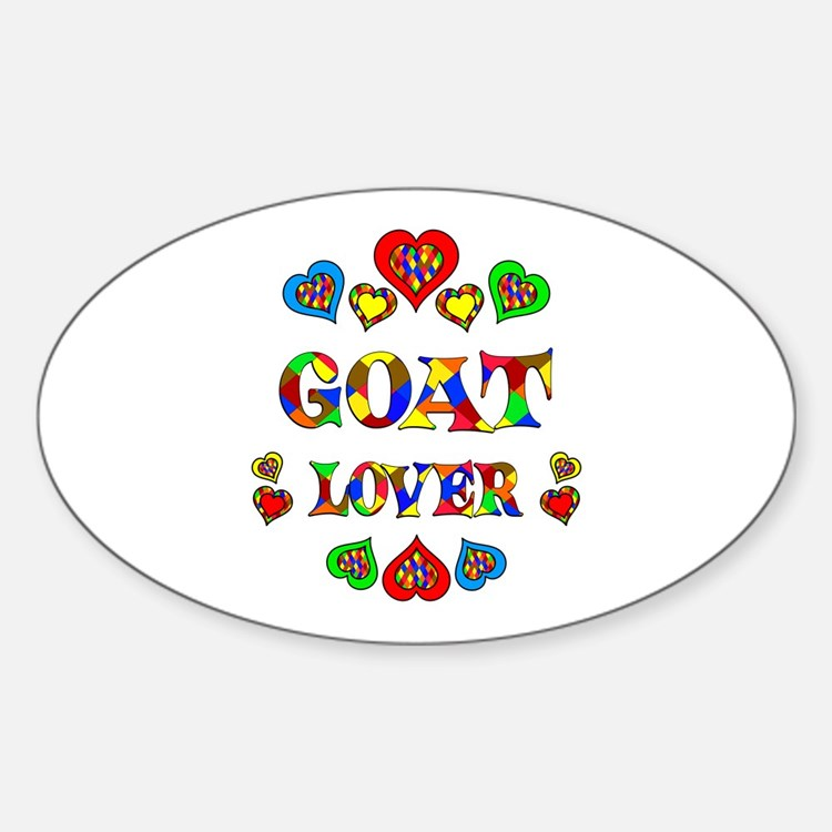 Goat Lover Decal