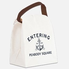 PEABODY SQUARE Canvas Lunch Bag