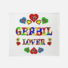 Gerbil Lover Throw Blanket