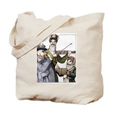 Llama Christmas Trio Tote Bag
