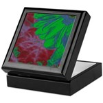 Abstract Gerbera Keepsake Box