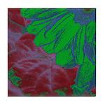 Abstract Gerbera Tile Coaster