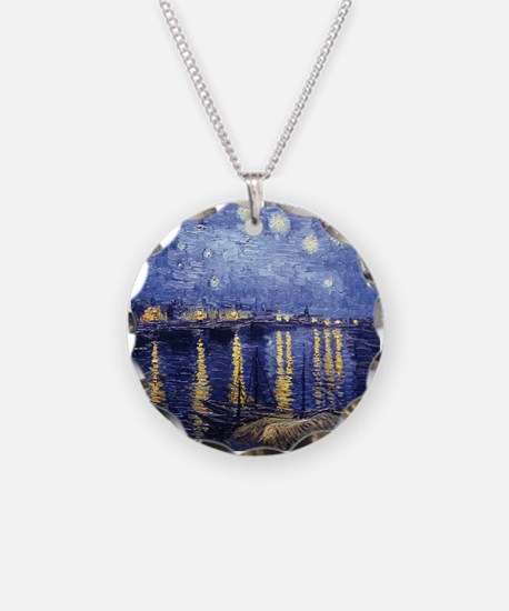 Starry Night Over the Rhone Necklace