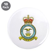 "RAF Mildenhall 3.5"" Button (10 pack)"