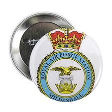 """RAF Mildenhall 2.25"""" Button"""