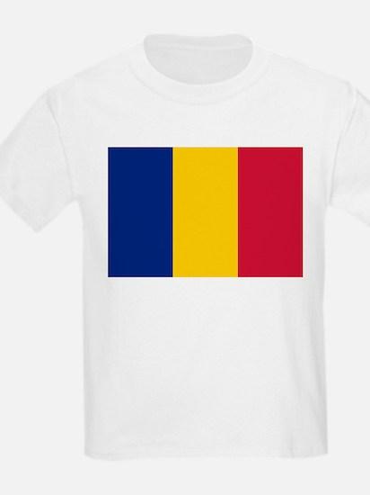 Romania Flag Picture Kids T-Shirt