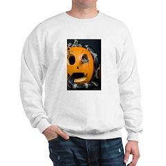 Black Snake in Pumpkin Sweatshirt