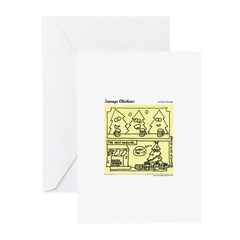 One Crazy Night Greeting Cards (Pk of 10)