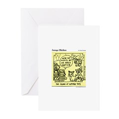 Misfits Greeting Cards (Pk of 10)