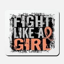 Licensed Fight Like a Girl 31.8 Uterine Mousepad