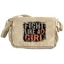 Licensed Fight Like a Girl 31.8 Uter Messenger Bag