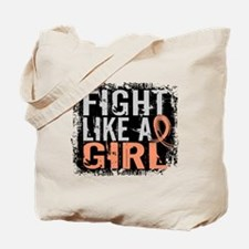 Licensed Fight Like a Girl 31.8 Uterine C Tote Bag