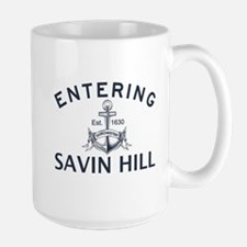 SAVIN HILL Large Mug