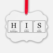 HIS and HErS [Chemical Elements] Ornament