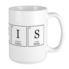 HIS and HErS [Chemical Elements] Ceramic Mugs