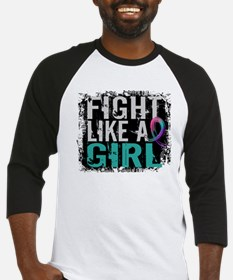 Licensed Fight Like a Girl 31.8 Th Baseball Jersey