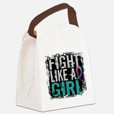 Licensed Fight Like a Girl 31.8 T Canvas Lunch Bag