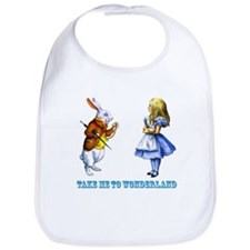 Take me to Wonderland Bib