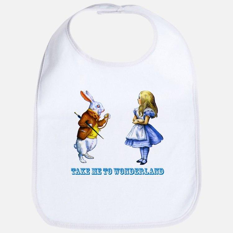 Take me to Wonderland Bib