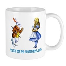 Take me to Wonderland Small Mugs