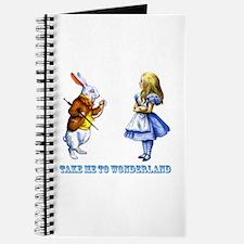Take me to Wonderland Journal