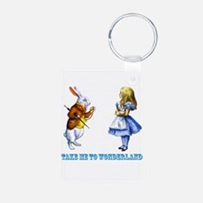 Take me to Wonderland Keychains