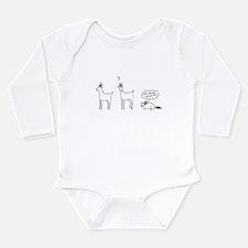 Reindeer Disguise Long Sleeve Infant Bodysuit