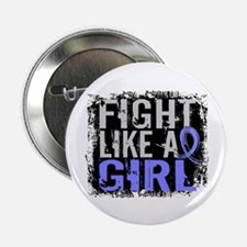 """Licensed Fight Like a Girl 31.8 Thyro 2.25"""" Button"""