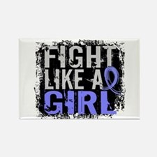 Licensed Fight Like a Girl 31.8 T Rectangle Magnet