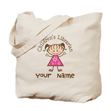 Personalized Children's Librarian Tote Bag