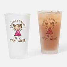 Personalized Children's Librarian Drinking Glass