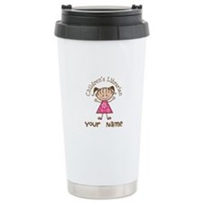 Personalized Children's Librarian Travel Mug