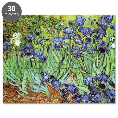 Irises by Vincent van Gogh Puzzle