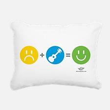 Vader Uke Rectangular Canvas Pillow