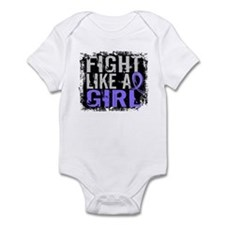 Fight Like a Girl 31.8 Stomach Cancer Infant Bodys