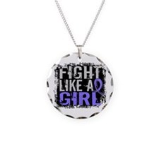 Fight Like a Girl 31.8 Stomach Cancer Necklace