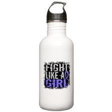 Fight Like a Girl 31.8 Stomach Cancer Water Bottle