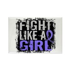 Fight Like a Girl 31.8 Stomach Cancer Rectangle Ma