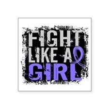 Fight Like a Girl 31.8 Stomach Cancer Square Stick