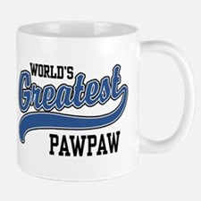 World's Greatest PawPaw Small Mugs