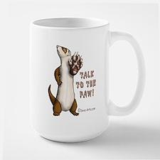 The Paw Large Mug
